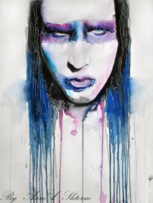 Marilyn Manson by AnnaShtorm